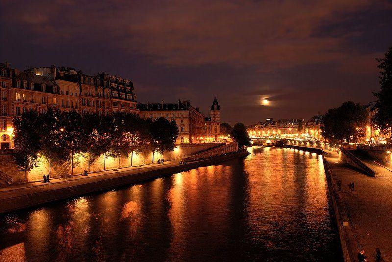 паиж, остров сите, ночной Еще раз про ночной Париж.photo preview