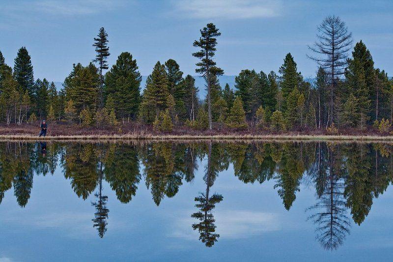 бурятия, байкал, озеро, рыбак * * *photo preview