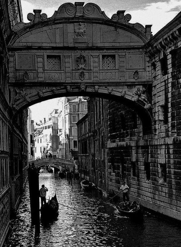 венеция, гондольер, мост вздохов **photo preview