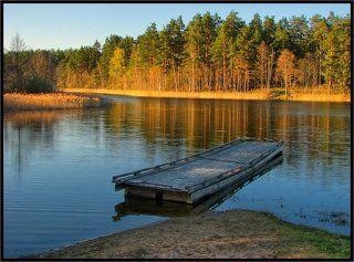 Вечерок на озере