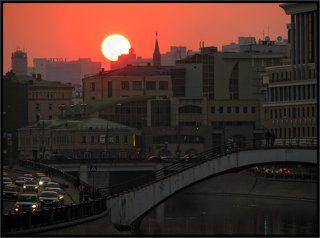 Версия московского заката