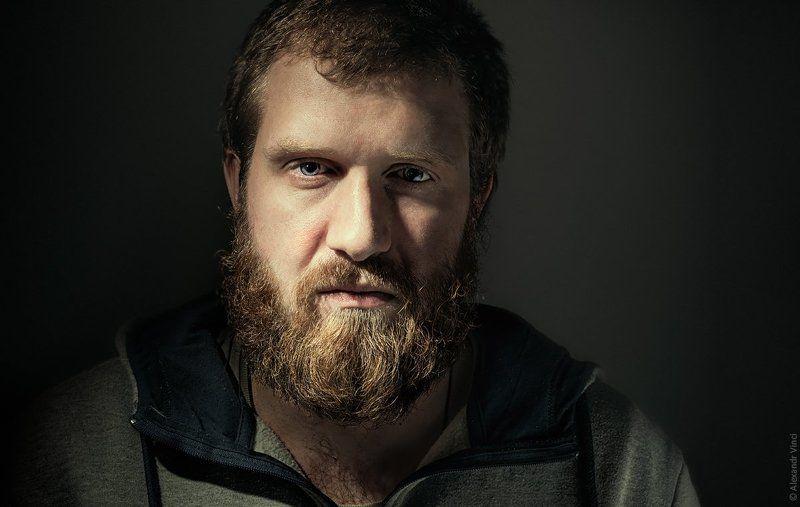 Alexandr vinci, Бородатый мужчина, Ламберсексуал, Портрет ****photo preview