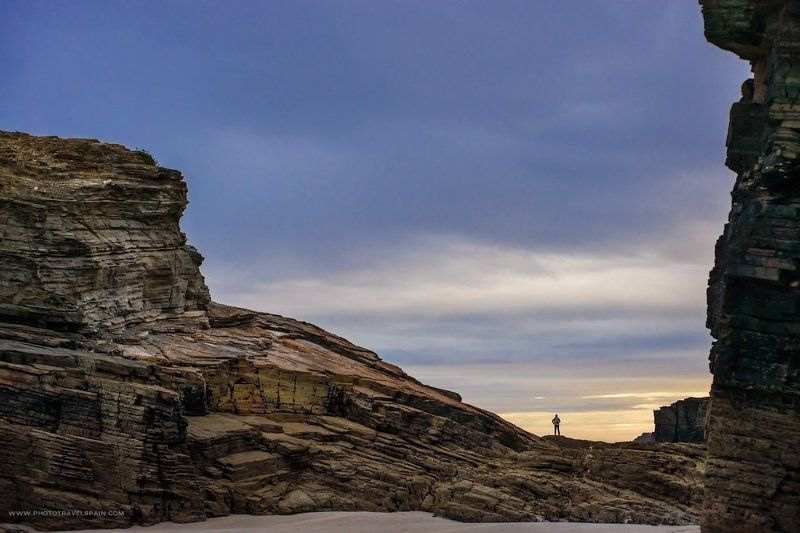 океан,галисия,скалы Капля в мореphoto preview