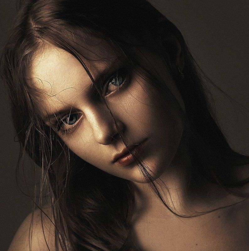 Beautiful, Eyes, Girl, Портрет salaiphoto preview