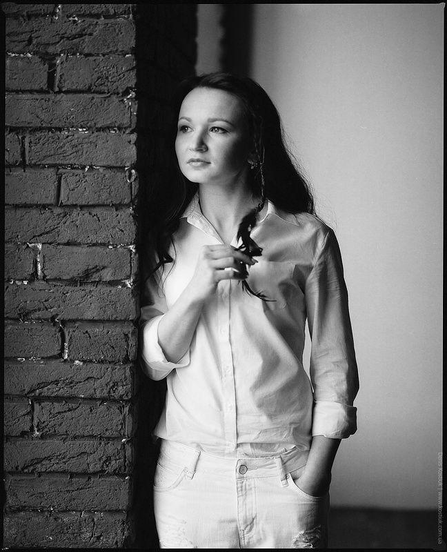 120 film, B&w, Film, Mamiya, Model, Portrait, RZ Nastyaphoto preview