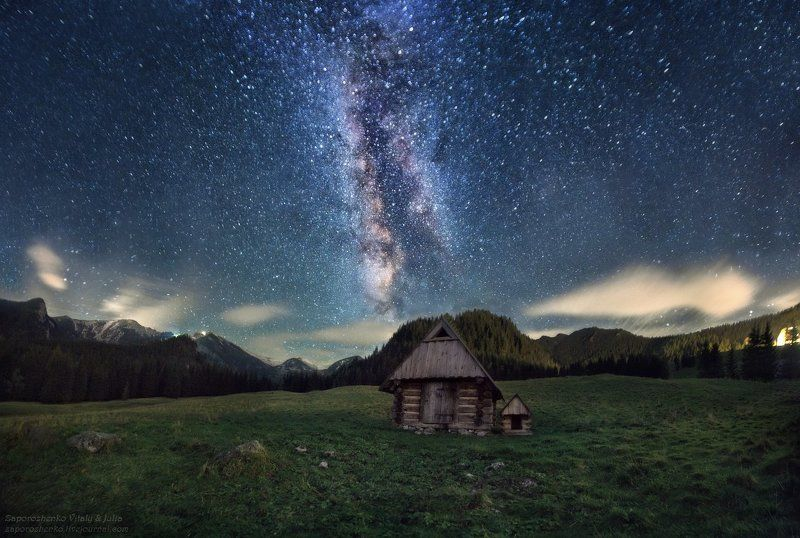 Familygarden, Gwiazdy, Kalat?wki, Milkyway, Mountains, Night, Poland, Stars, Tatra mountains, Tatry, Vint26, Zakopane, Zaporozhenko Wonderland of Starsphoto preview