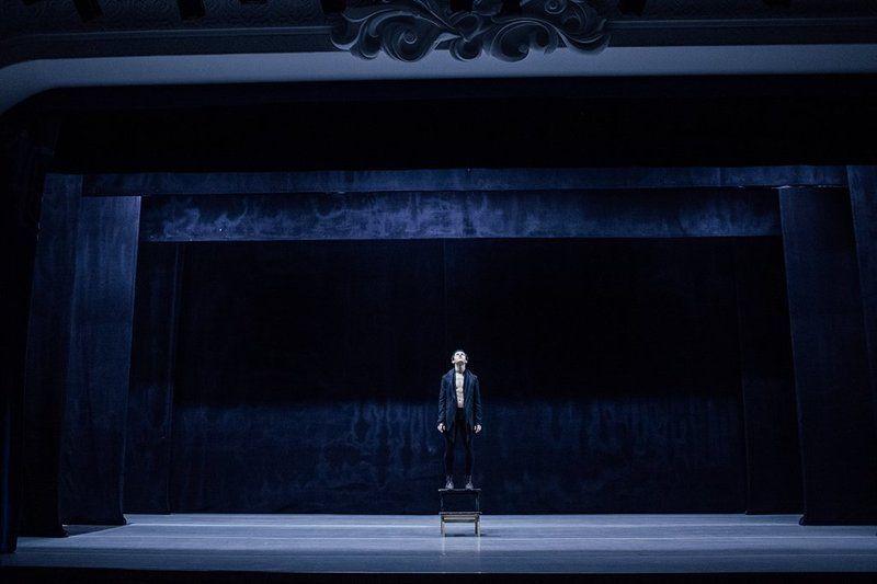 dance, man, blue Zhenya (2)photo preview