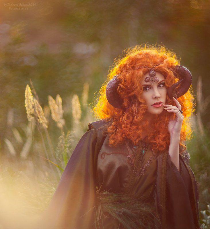 Ведьма, Рыжая, Сказки ...photo preview