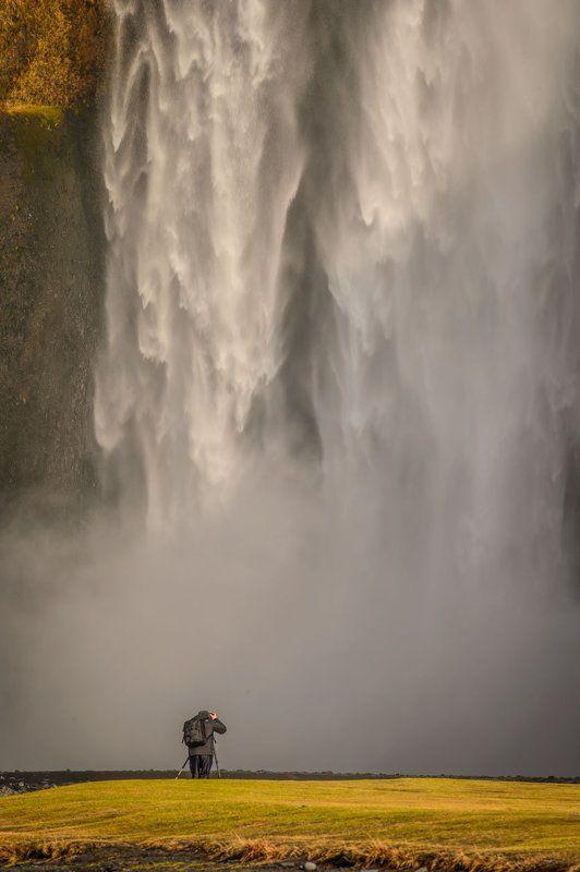 Путешествия, Исландия, остров, водопад фотографphoto preview