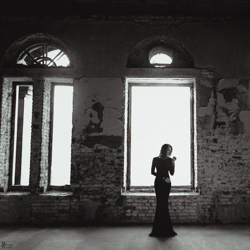 Девушка свет комната, Окна гламур, Портрет чб incarnationphoto preview