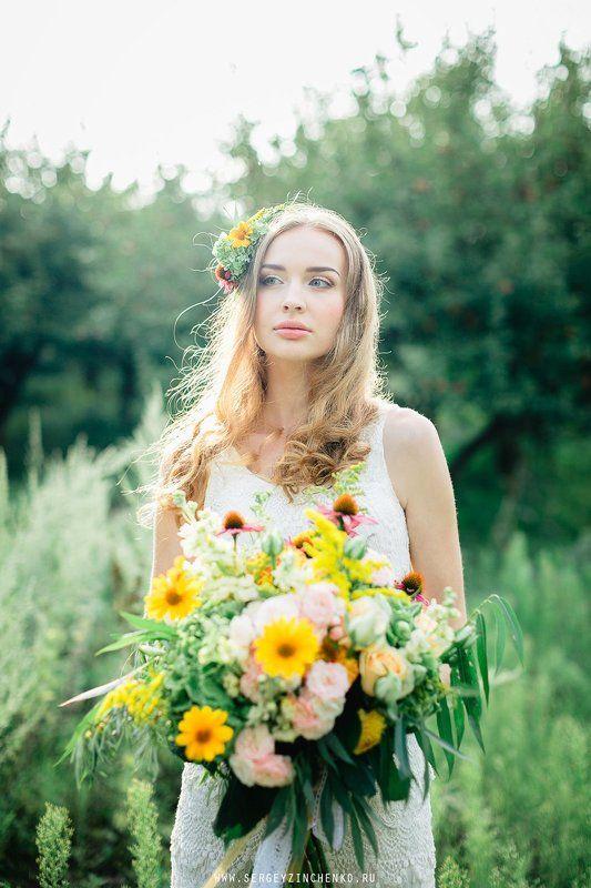 fine-art, Декор, Невеста Весенний образ невесты в фотосете \