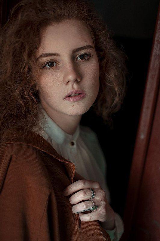 Nikon d 700, Sigma, Девушка, Портрет, Россия, Рыжая, Улица ***photo preview