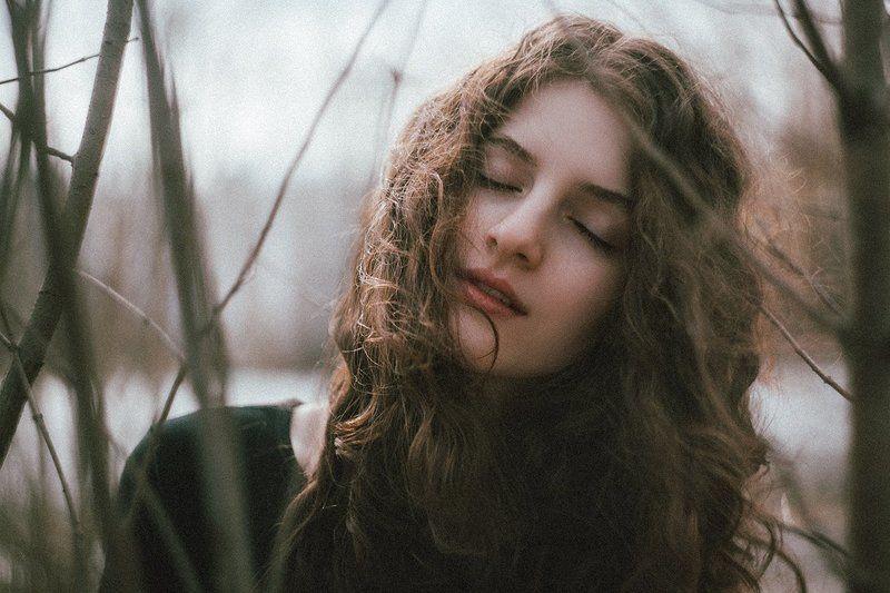 девушка, портрет, цвет Машаphoto preview
