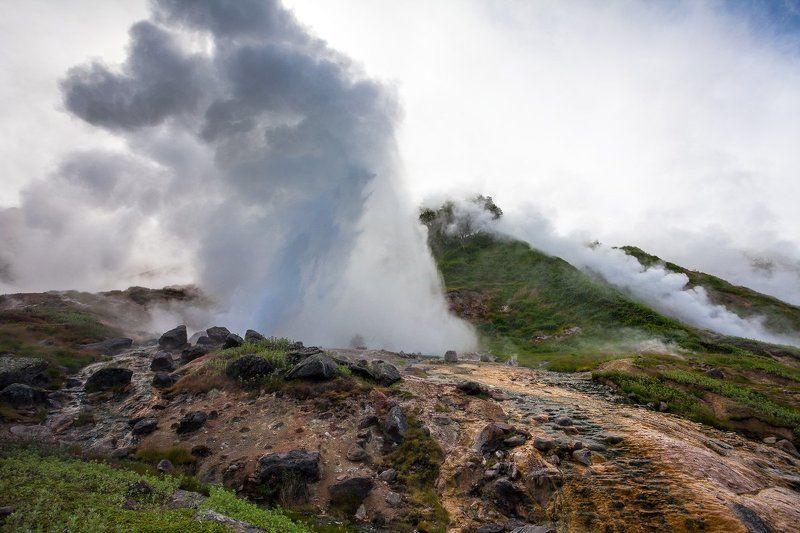 Долина гейзеров, Камчатка Гейзер \