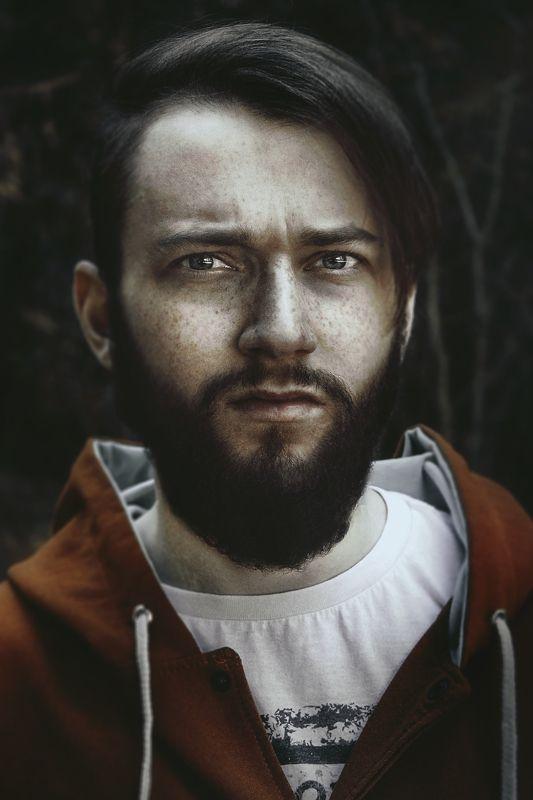 Борода, Взгляд, Мужчина, Парень, Портрет Портретphoto preview