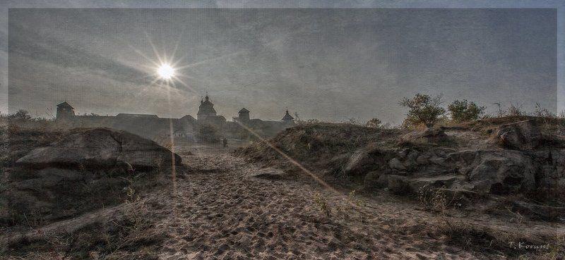 сечь, музей,заповедник,Хортица,контражур Призрак истории...photo preview