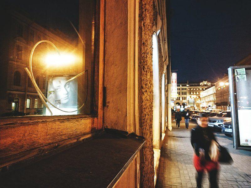 Глаза, Город, Людт, Ночь, Огни, Санкт-петербург Взглядphoto preview
