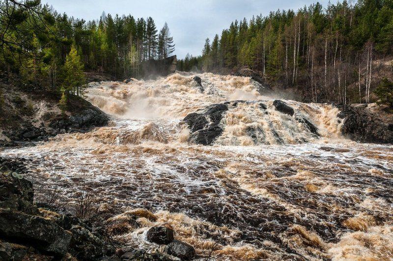 водопад Водопады Карелииphoto preview