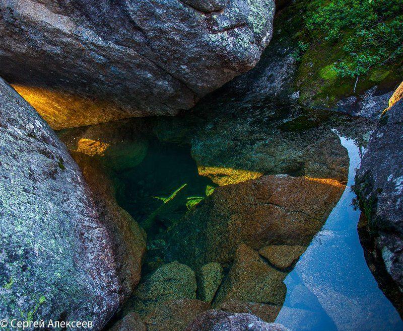 краски горного озераphoto preview