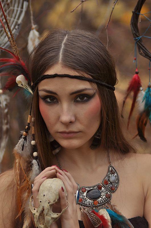 Autumn, Bones, Dreamcatcher, Fairy, Forest, Hackle, Shaman, Witch, Wood Hackle & Bonesphoto preview