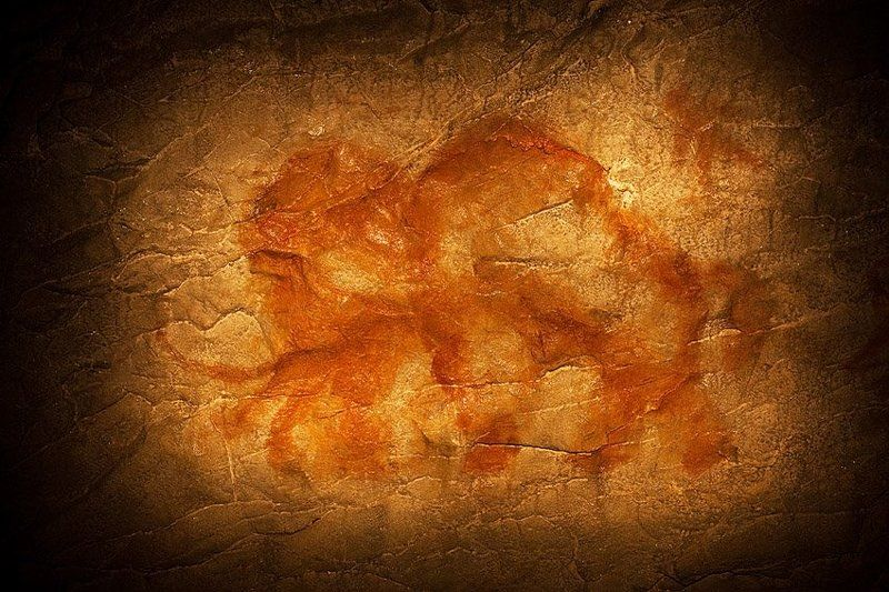 мамонт, капова пещера, шульган-таш, рисунок Мамонтphoto preview