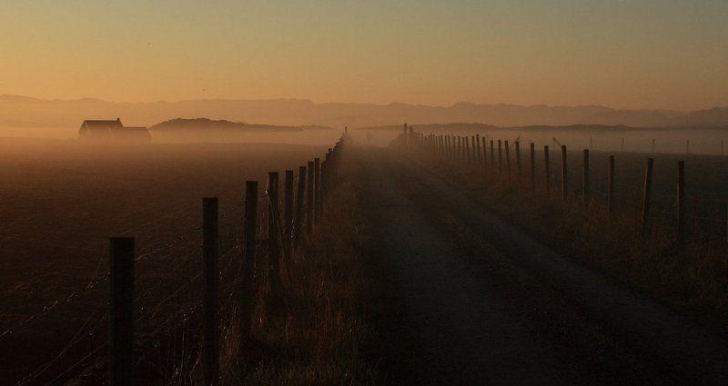 туман, рассвет на рассветеphoto preview