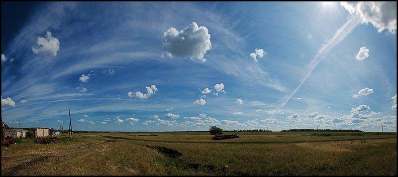 небо За околицейphoto preview
