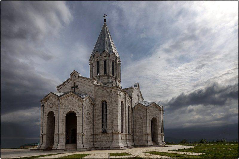 Нагорный Карабах, Шуша, Собор Святого Христа Всеспасителяphoto preview