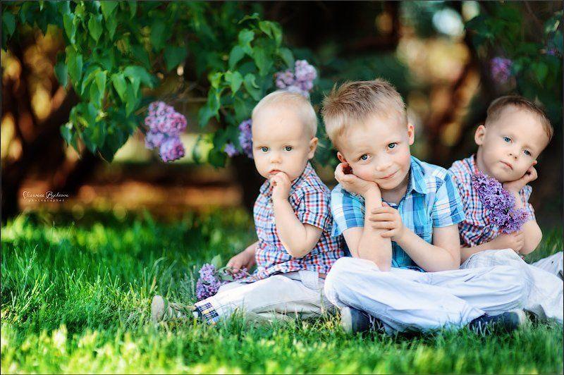 Сиреневые детиphoto preview