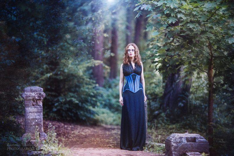 Beautiful, Beautiful girl, Corset, Girl, Portrait ***photo preview