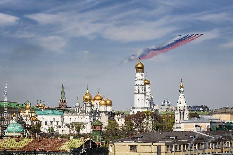 Москва, город, красота, пейзаж, большая выдержка, огни, закат, небо, городской пейзаж Красота Москвыphoto preview