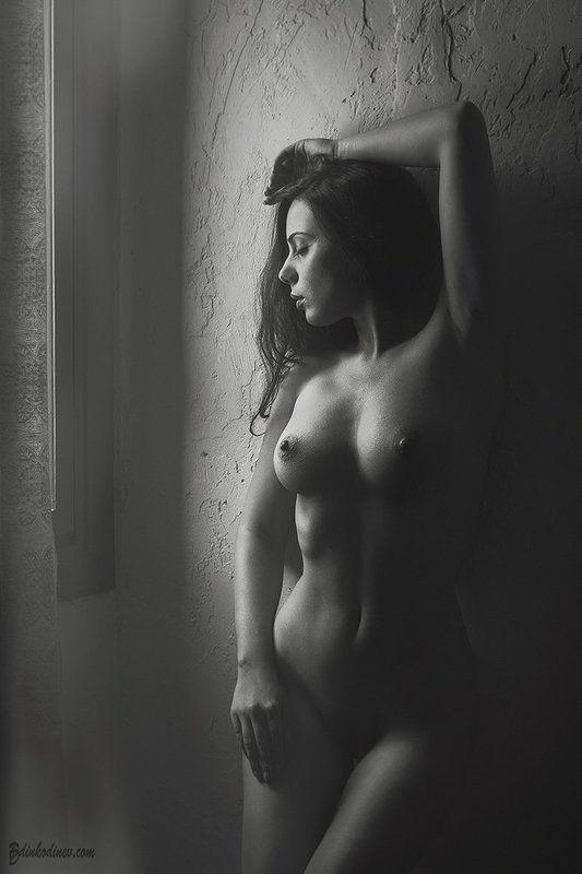 Black and white, Passion, Portrait, Woman, Девочка, Портрет, Портрет девушки, Черно-белое ***photo preview