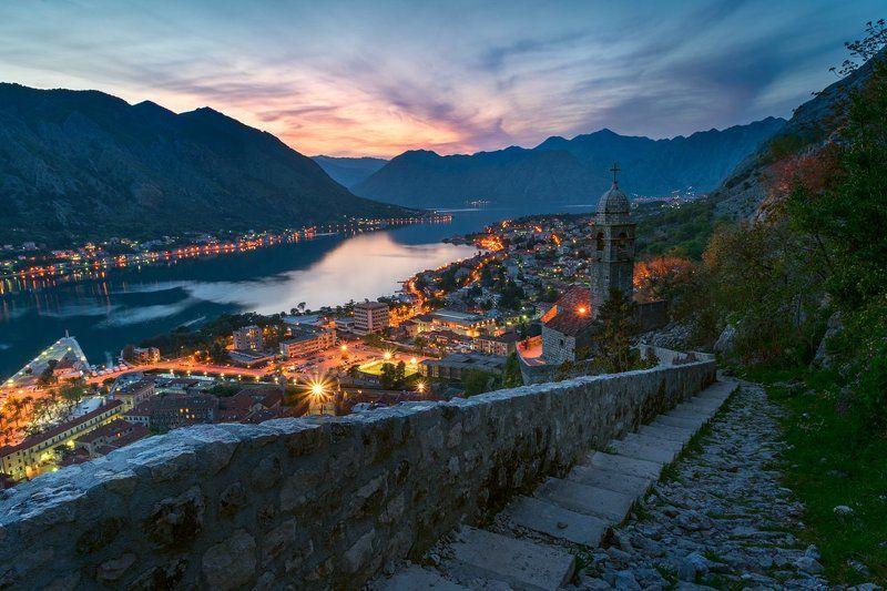 котор, пераст, прчань, залив, черногория По Которскому заливуphoto preview