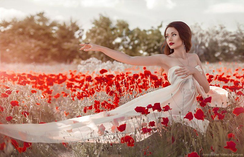 art, fairytale, girl, fashion, beautiful, light, white, sexy, female, , red, glamour, model, beauty, eyes, face, young, hair, pretty, cute, flower, sun, summer, fantasy, photo, photography, photoshop, dream, body, flowers, forest, magic, nature, retoucher Oksiphoto preview