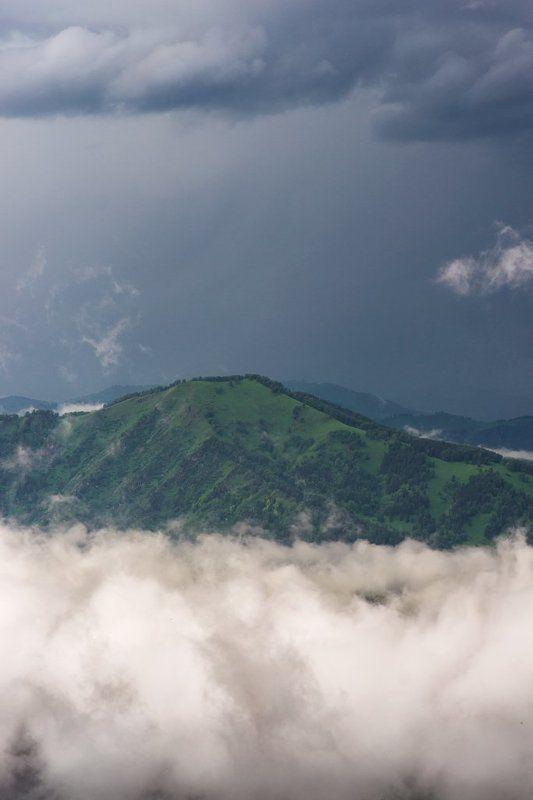 горы, алтай Горы над облакамиphoto preview