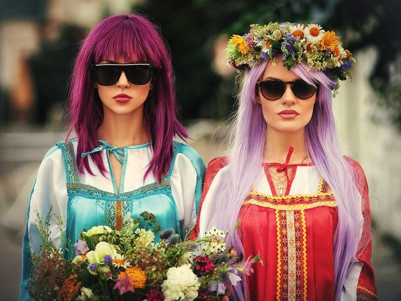 Русский народный фэшнphoto preview