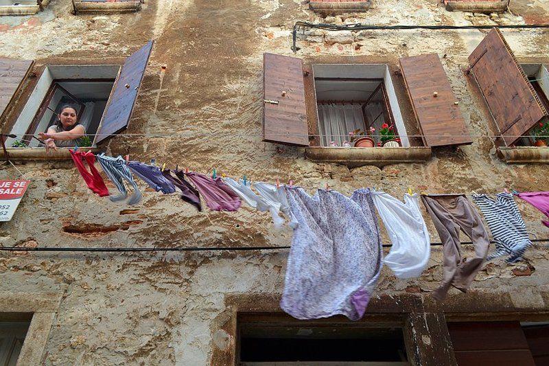 На узких улочках Хорватии photo preview