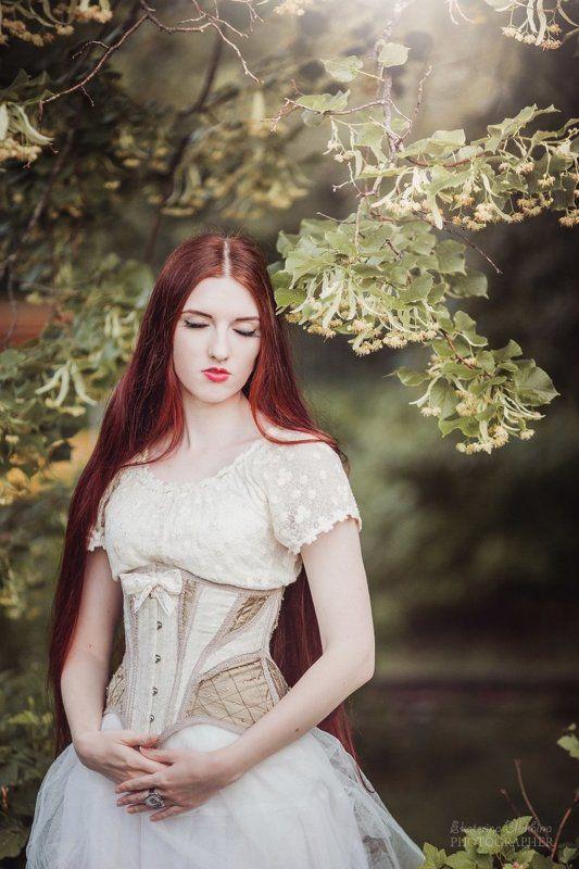 beautiful, beautiful girl, girl, portrait, corset ***photo preview