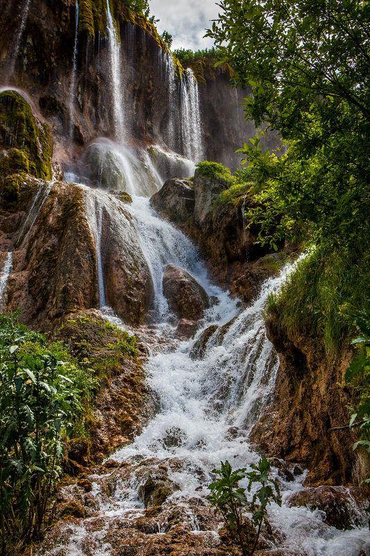 кавказ, водопад, кабардино-балкария водопад Гедмышхphoto preview