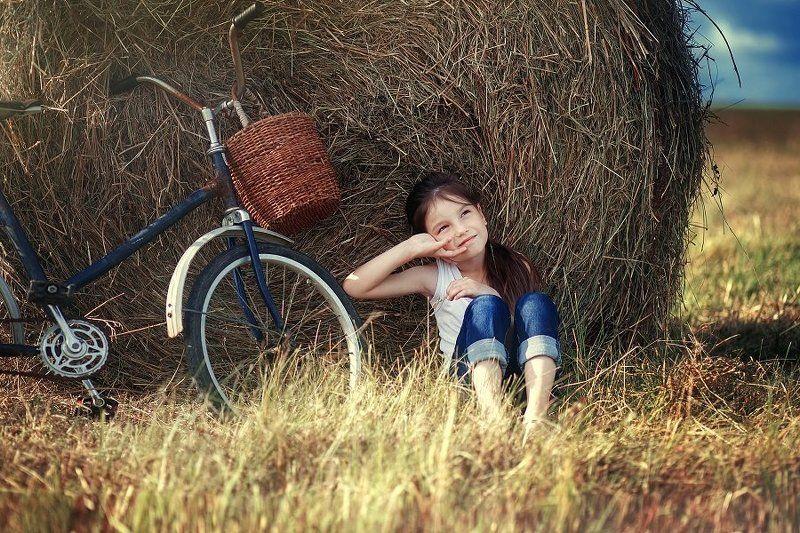 дети лето деревня Аннаphoto preview
