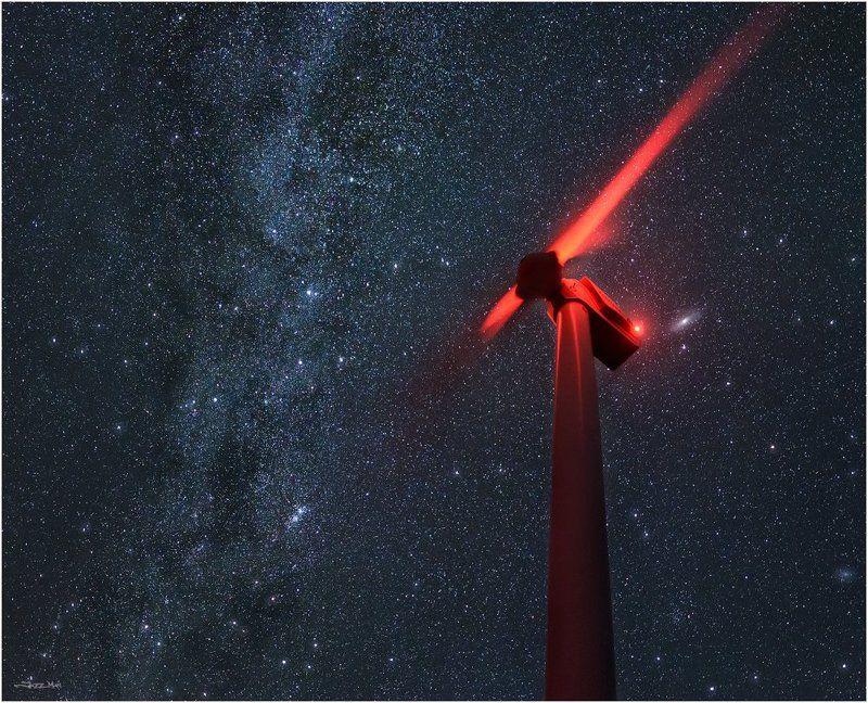 Галактика, Звезды, Крым, Млечный путь, Ночной пейзаж, Ночь, Панорама ...Энергии...photo preview