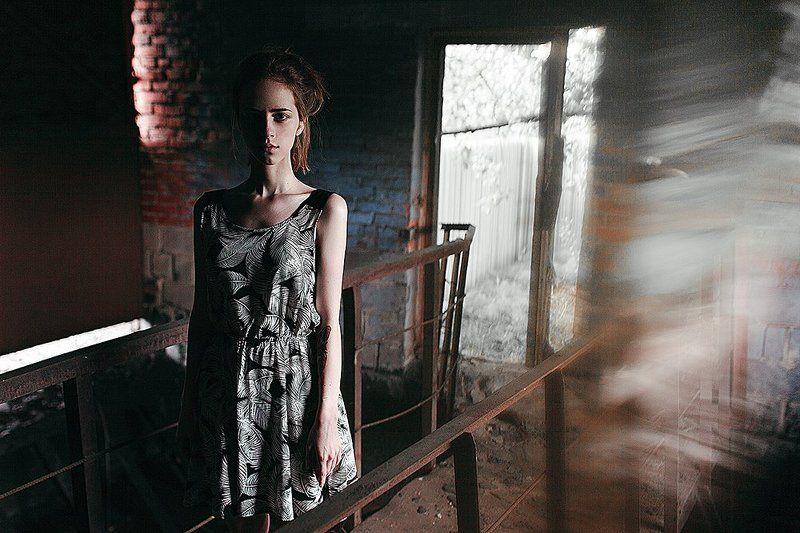 35 мм, Color, Film, Girl, Portrait photo preview