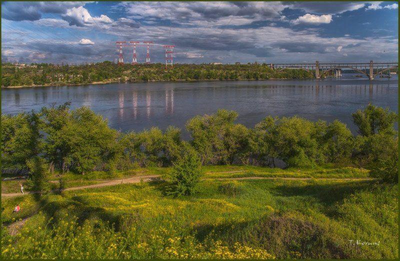 река,днепр,запорожье,хортица *photo preview
