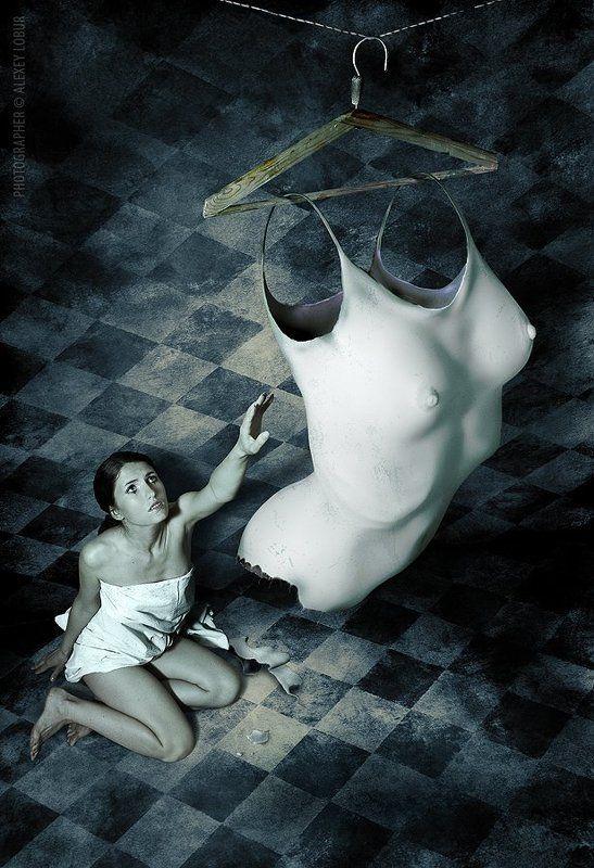 ню, девушка, тело, сюрреализм, лобур, ретушь bodyphoto preview