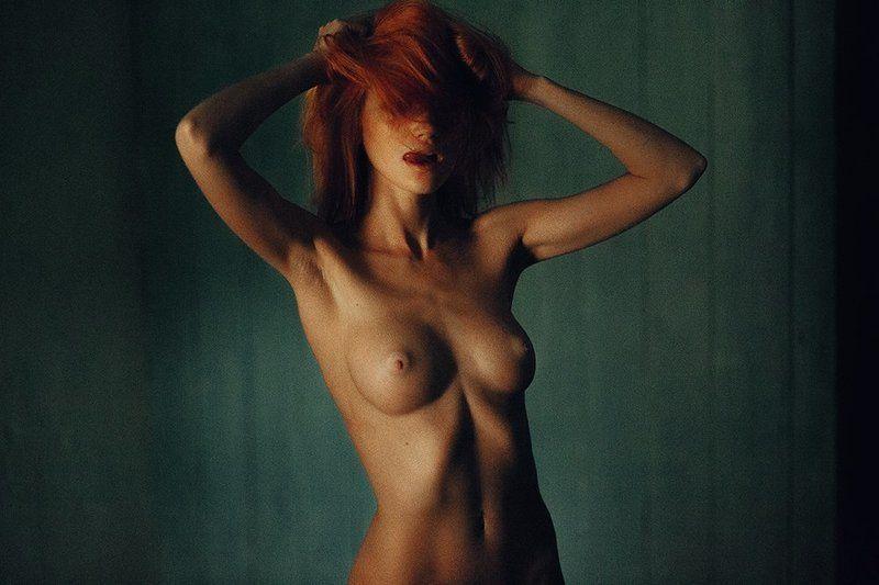 ню, девушка, эротика, girl, nude, рыжая Margaritaphoto preview