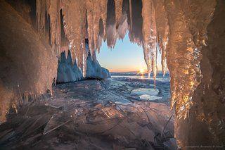 В плену ледяной красоты...