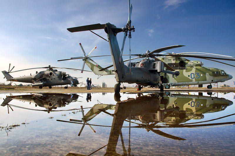 ВВС, Вертолет, Ми-26, Ми-28, Ми-35, Миль, Россия Семейство Миль.photo preview