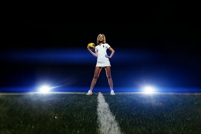 blue light of soccerphoto preview
