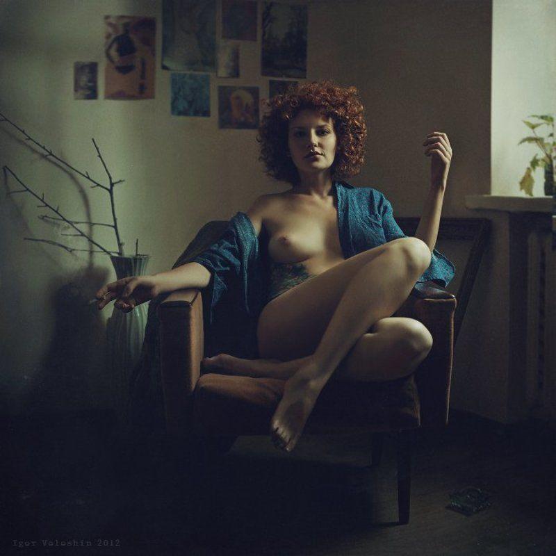 Igor Voloshin, Voloshin, computer art, nude, girl Margaretphoto preview