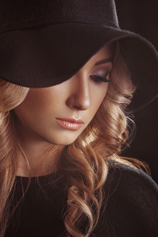 Girl, Portrait Blackphoto preview